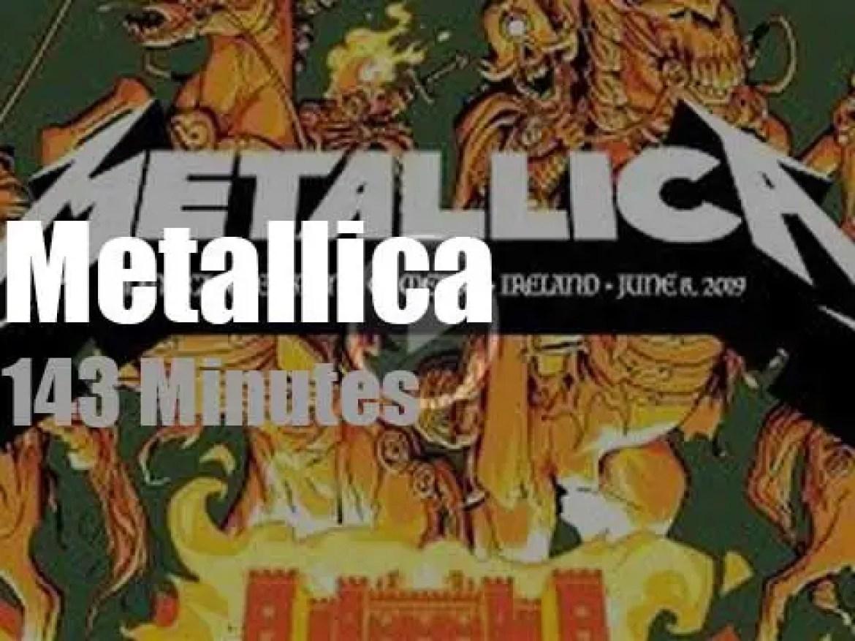 Metallica serenade Ireland (2019)