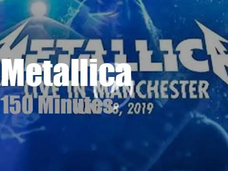 Metallica serenade  Manchester, England (2019)