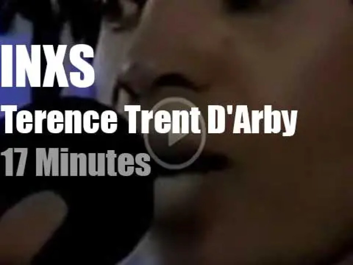 Terence Trent D'Arby guests with INXS (1999)