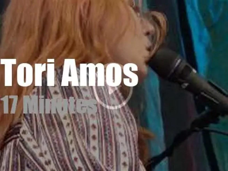 Tori Amos attends a Norwegian festival (2015)