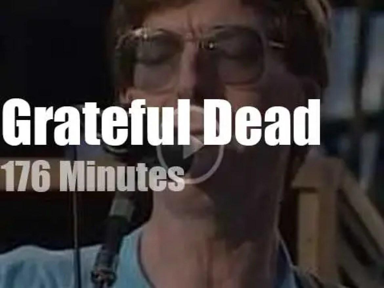 Grateful Dead visit Buffalo (1990)