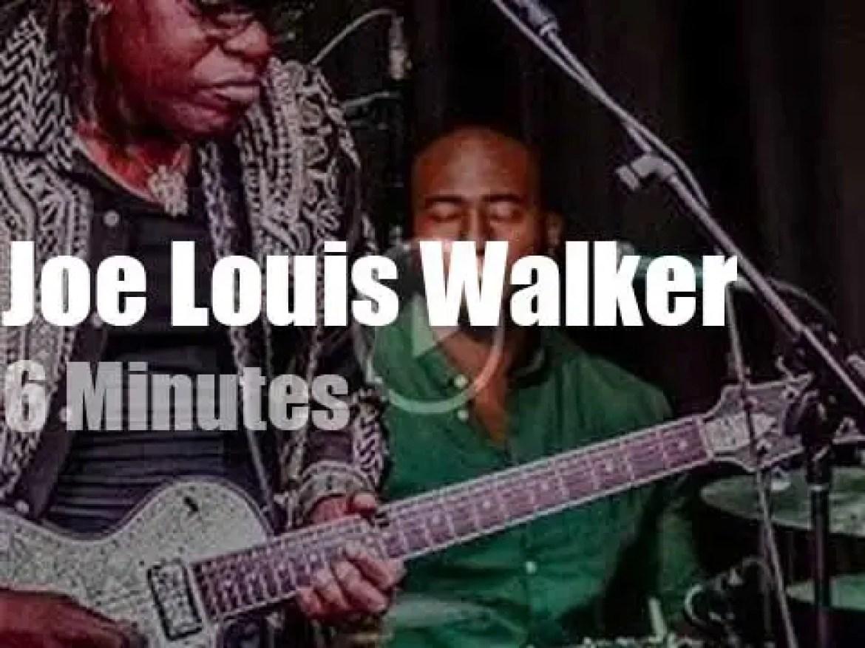 Joe Louis Walker plays in Canada (2017)