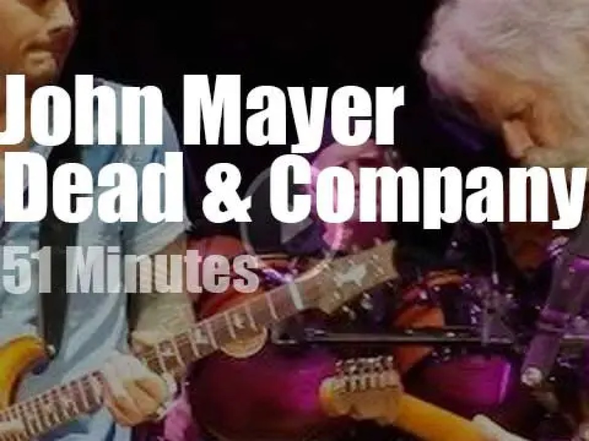 John Mayer guests with Dead & Company (2016)