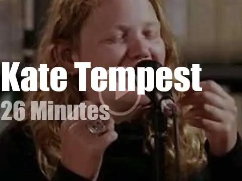 Kate Tempest speaks at Paste Studio (2019)