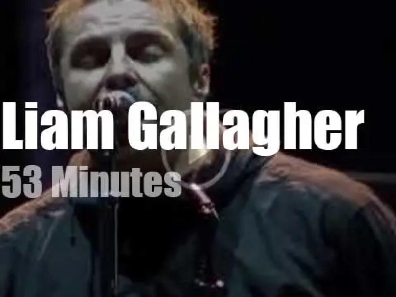 Liam Gallagher visit Benicassim in Spain (2018)