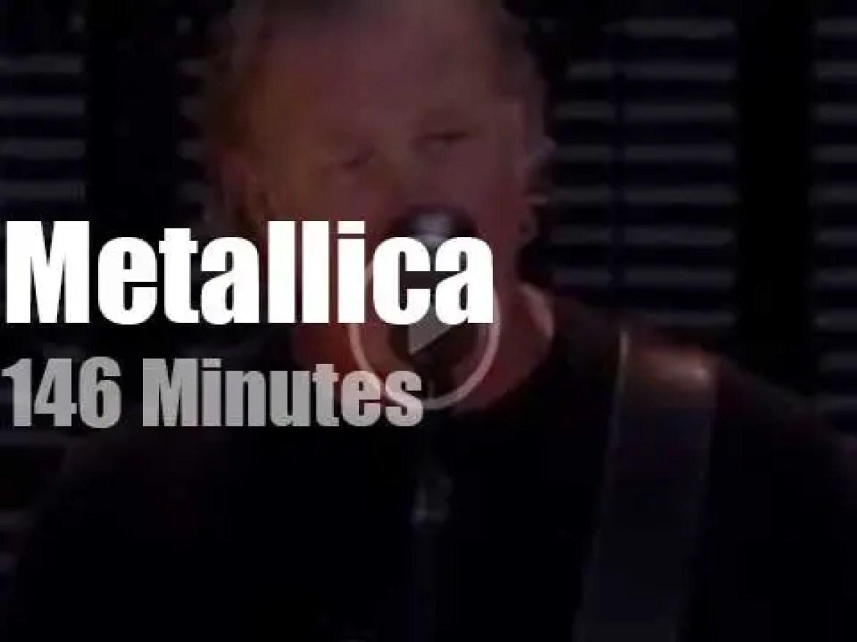 Metallica serenade Estonia (2019)