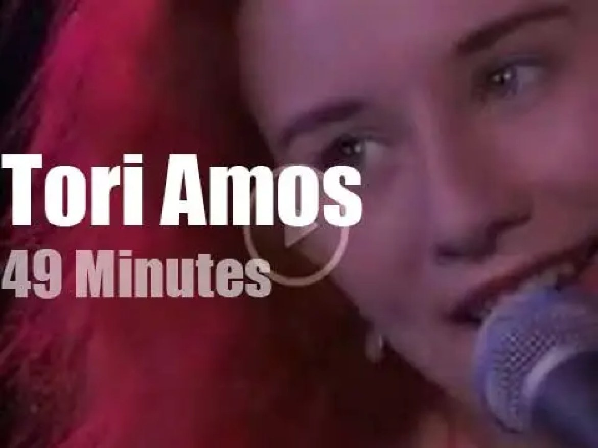 New Comer Tori Amos plays Montreux (1992)