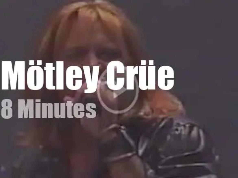 On TV today, Motley Crue with Jay Leno (1997)
