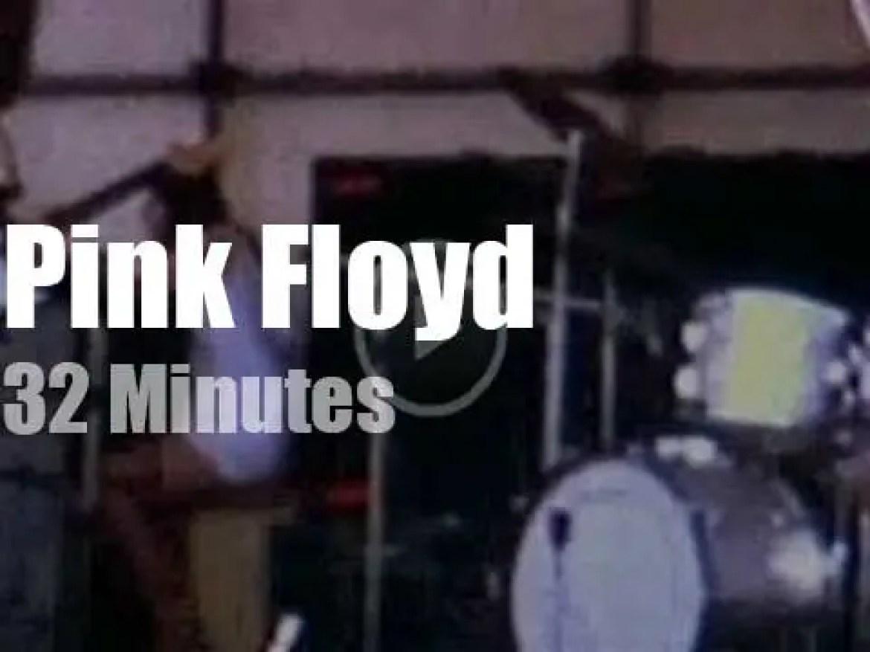 Pink Floyd enchant Hyde Park (1970)