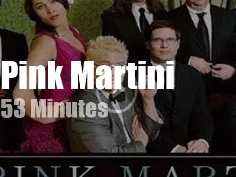 Pink Martini play in Stuttgart (2010)