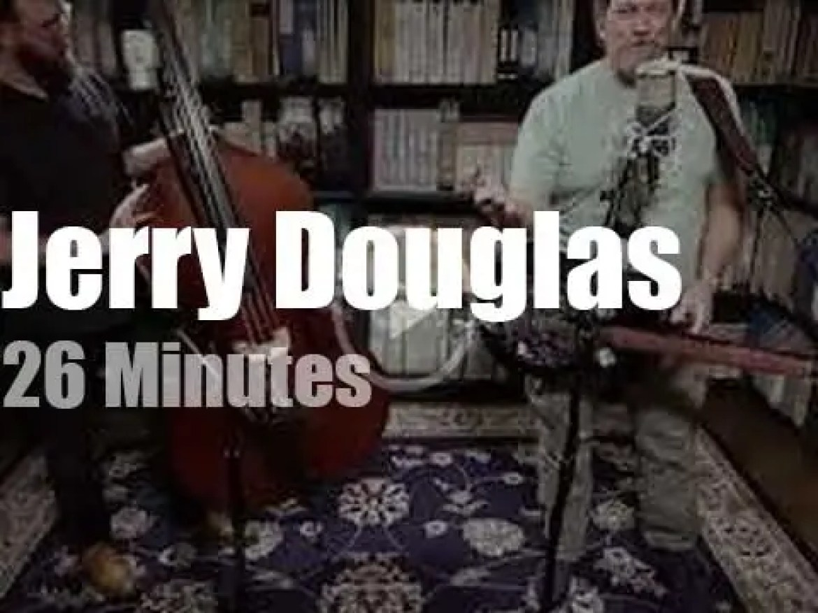 The Jerry Douglas Band performs at Paste Studios (2017)