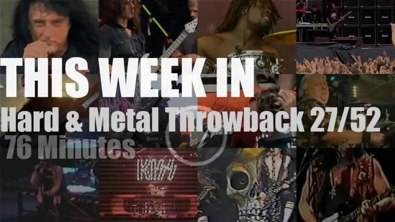 This week In  'Hard & Metal Throwback'  27/52