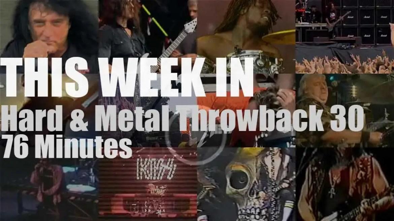 This week In  'Hard & Metal Throwback'  30