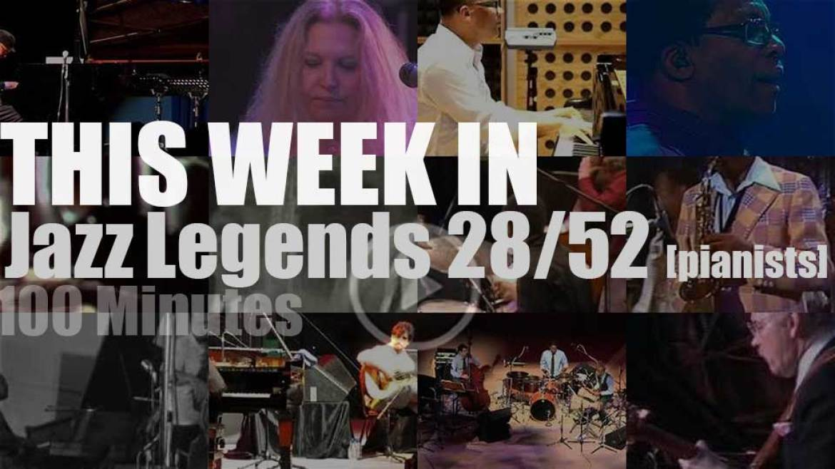 This week In Jazz Legends  (Special Pianists) 28/52