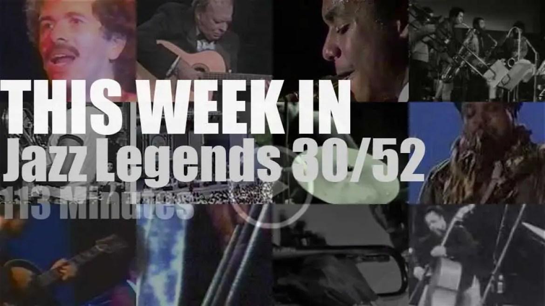 This week In Jazz Legends 30/52