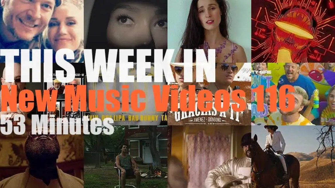 This week In New Music Videos 116