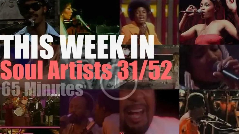 This week In Soul Artists 31/52