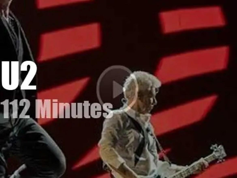 U2's 'Vertigo' hit Milan (2005)