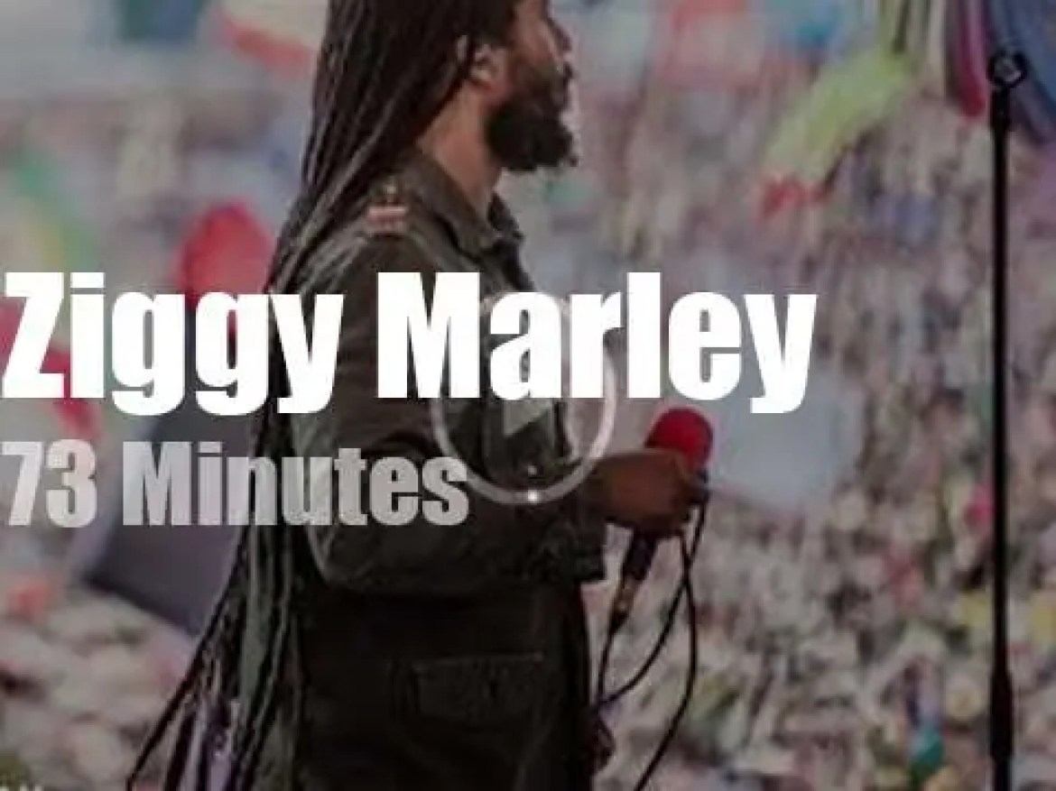 Ziggy Marley takes his 'Rebellion' to Poland (2019)