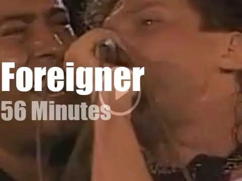Foreigner rock Tokyo (1985)