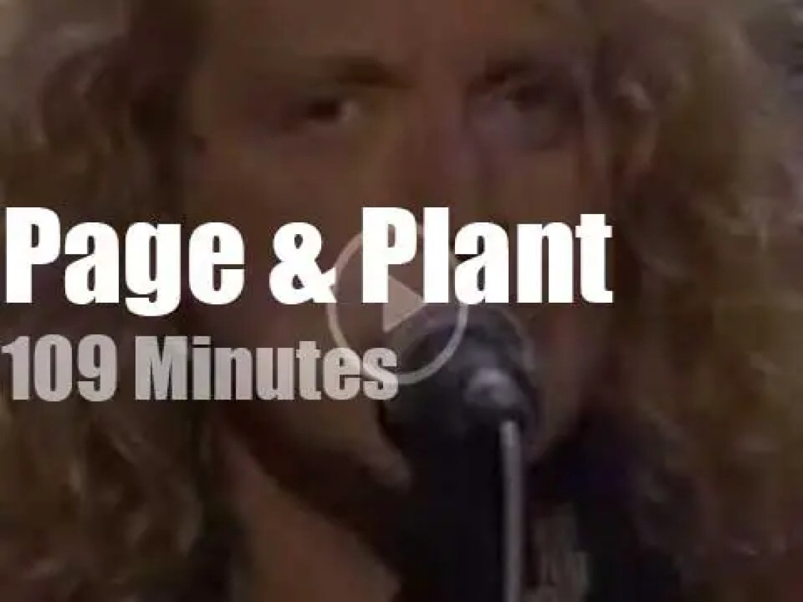 Page & Plant are 'Unledded' by MTV (1994)