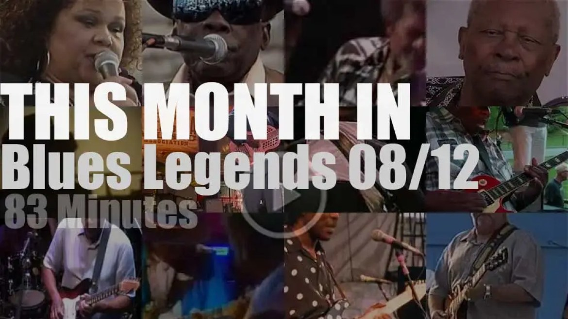 This month In Blues Legends 08/12