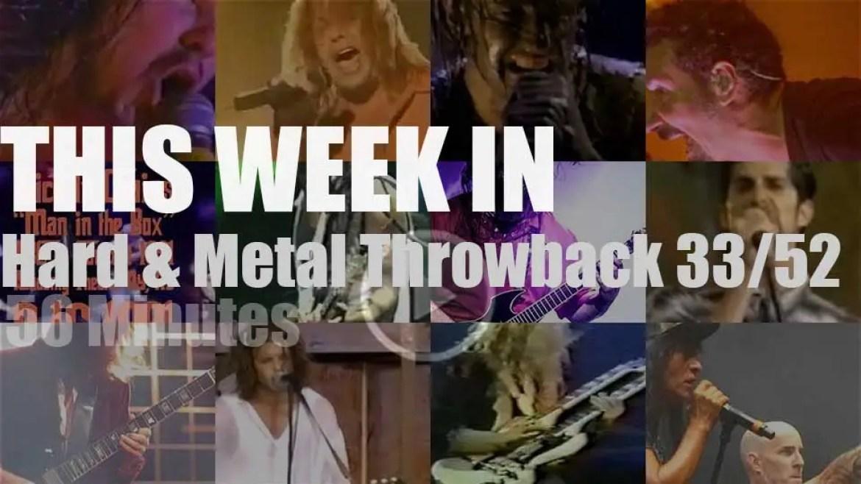 This week In  'Hard & Metal Throwback'  33/52