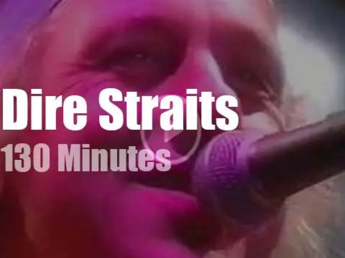 Dire Straits rock a Roman arena in France (1992)