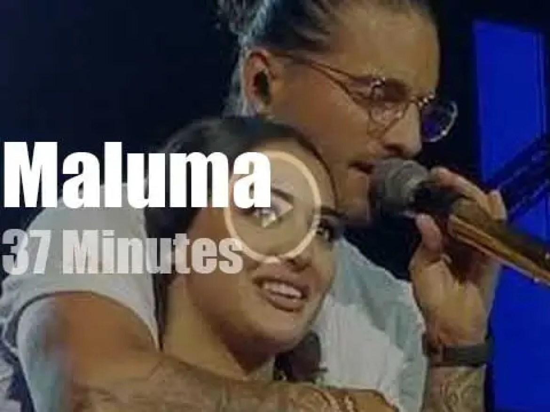Maluma seduces Amsterdamers (2018)