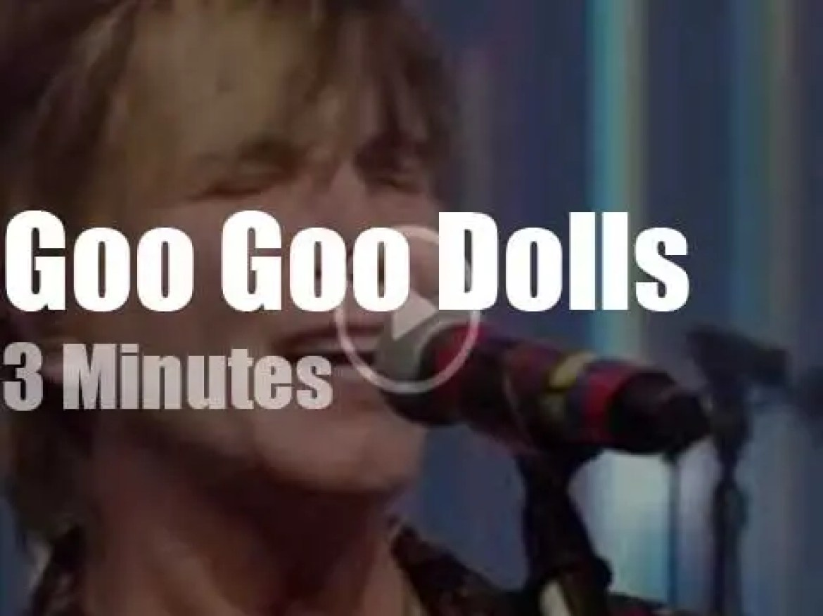 On TV today, Goo Goo Dolls with Kelly and Ryan (2019)
