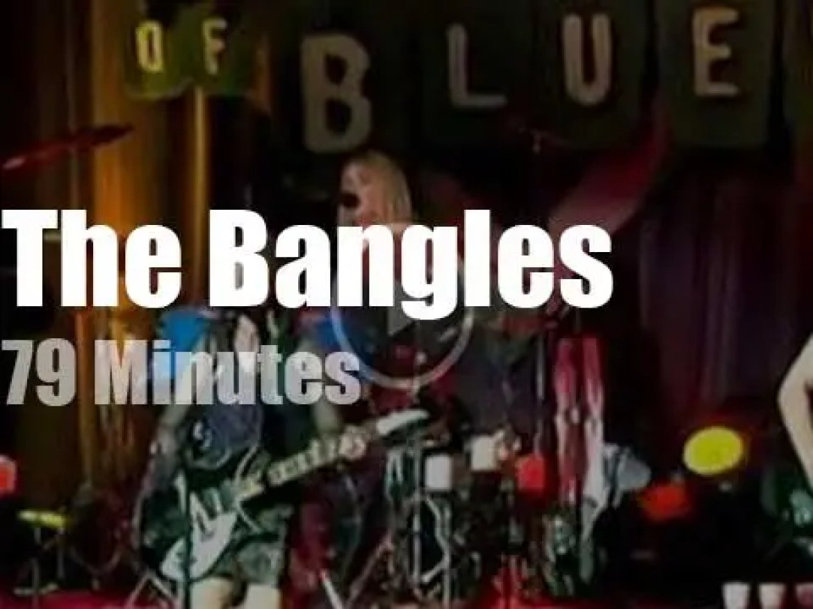 The Bangles 'webcast' from LA (2000)