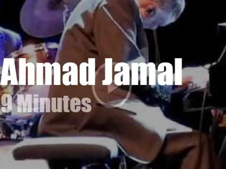 Ahmad Jamal rocks near Paris (2009)