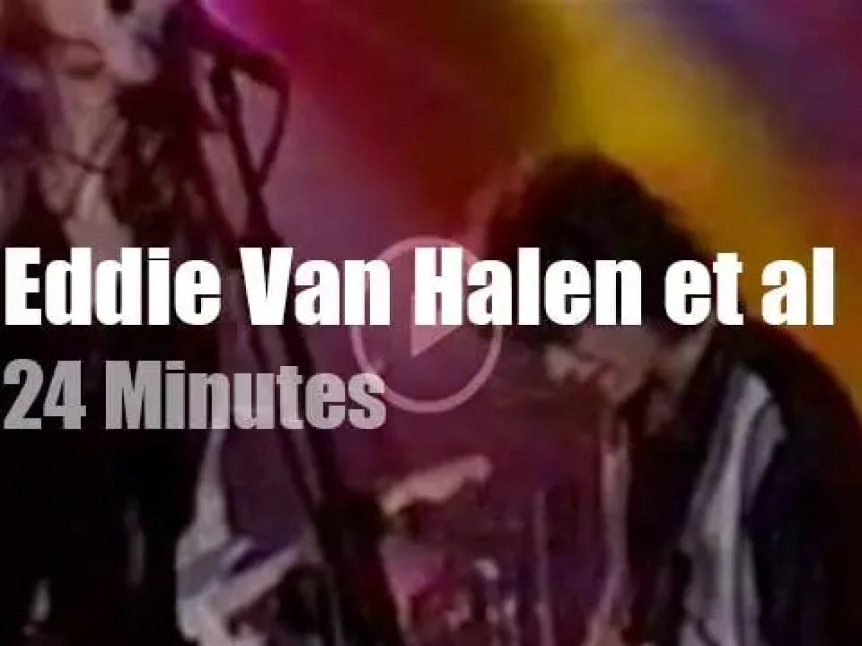 Eddie Van Halen joins an All Star Band (1996)