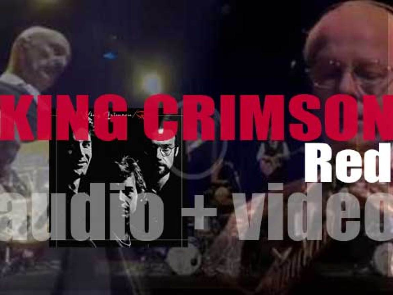 Island Records publish King Crimson's seventh album : 'Red' (1974)