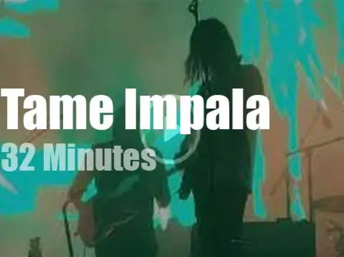 Tame Impala perform in Oakland (2018)