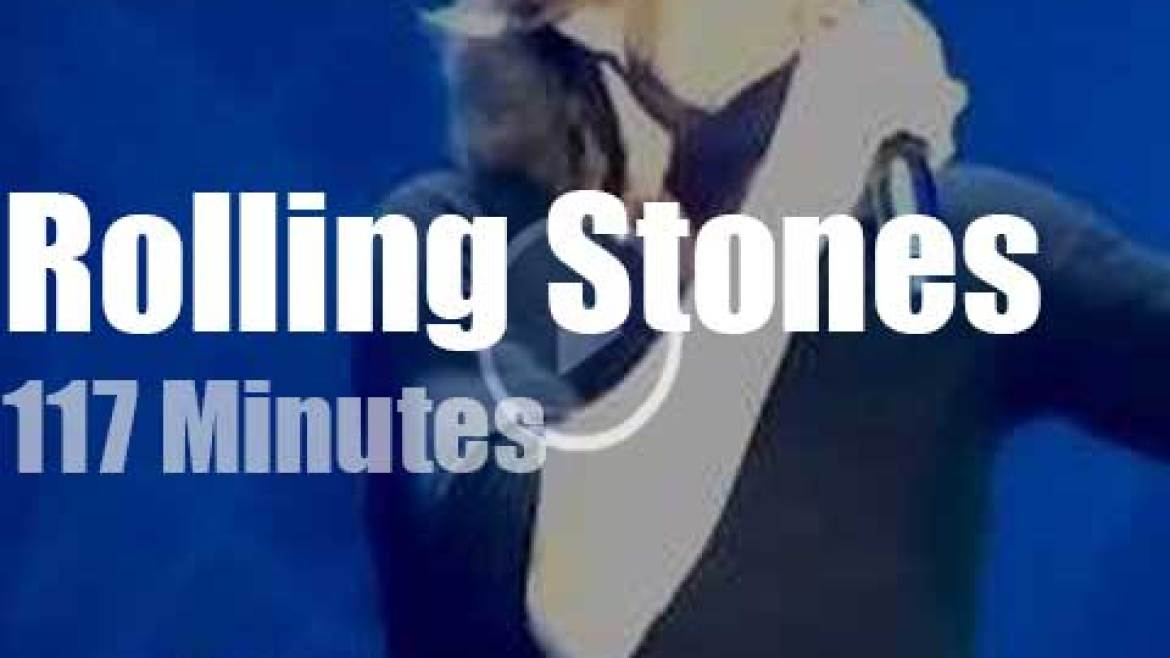 Eric, Florence, Bill et al sit in with The Rolling Stones in London (2012)