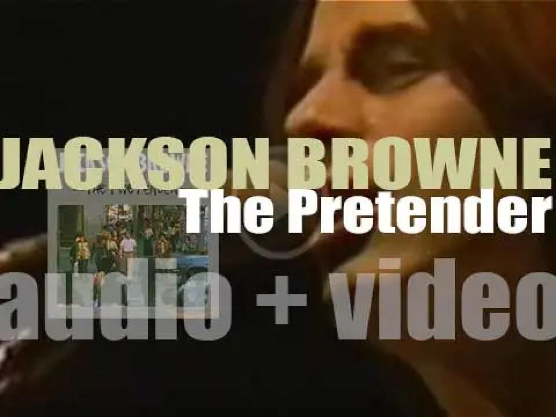Asylum publish Jackson Browne's fourth album : 'The Pretender' (1976)