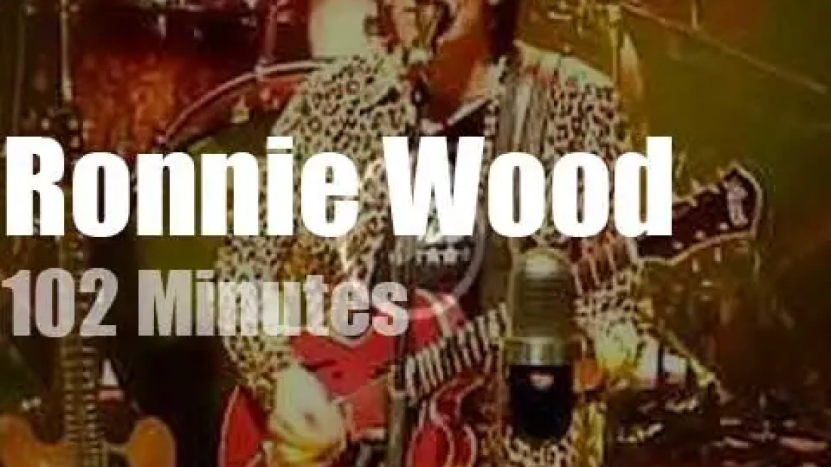 Ronnie Wood and his Wild Five pay 'Tribute to Chuck Berry' (2019)