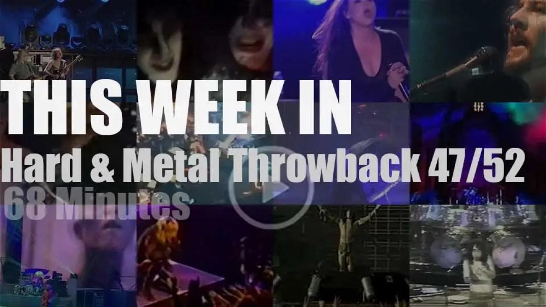 This week In  'Hard & Metal Throwback' 47/52