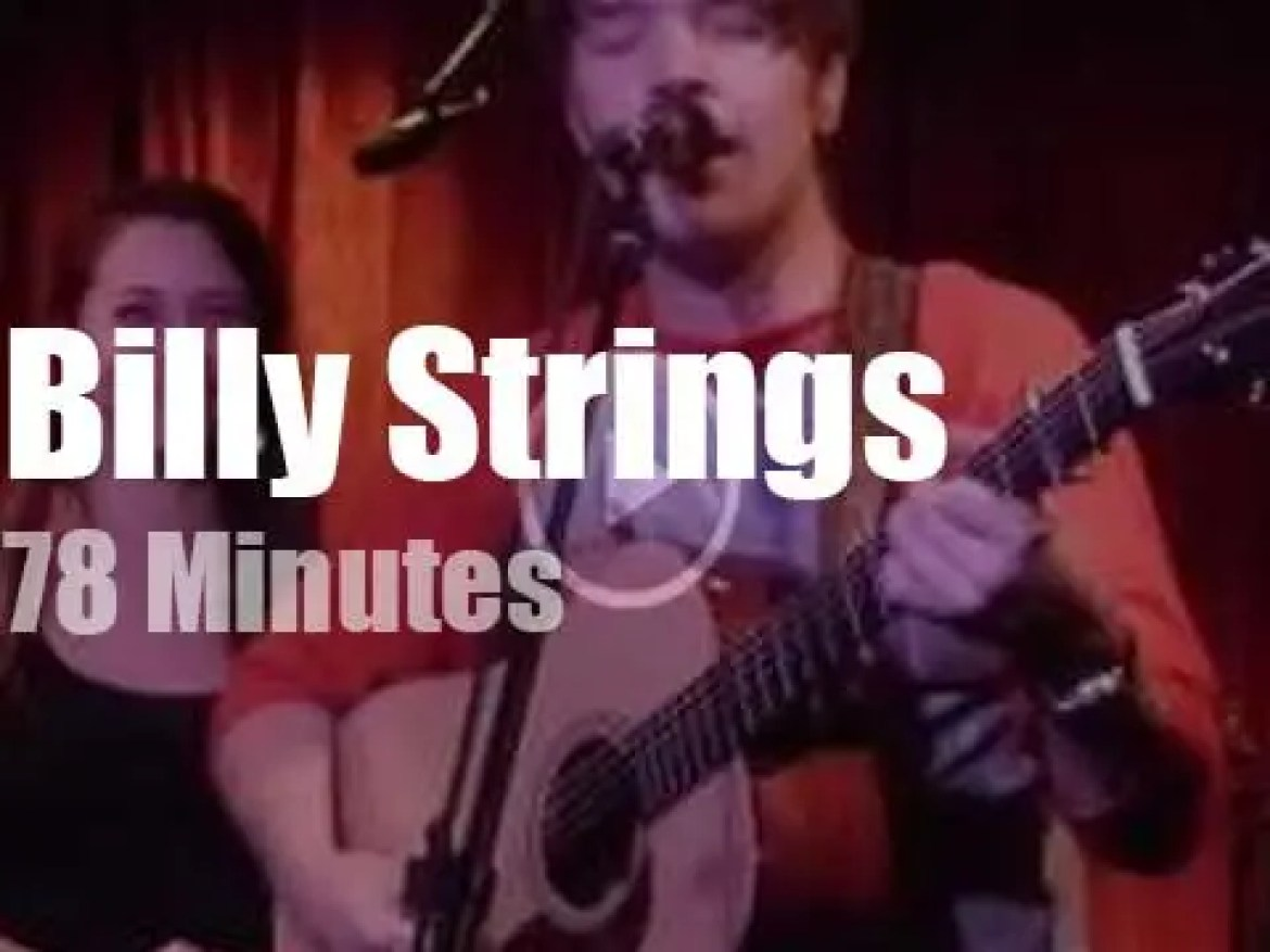 Billy Strings plays with Sierra, Lindsay, Pat and Molly (2016)
