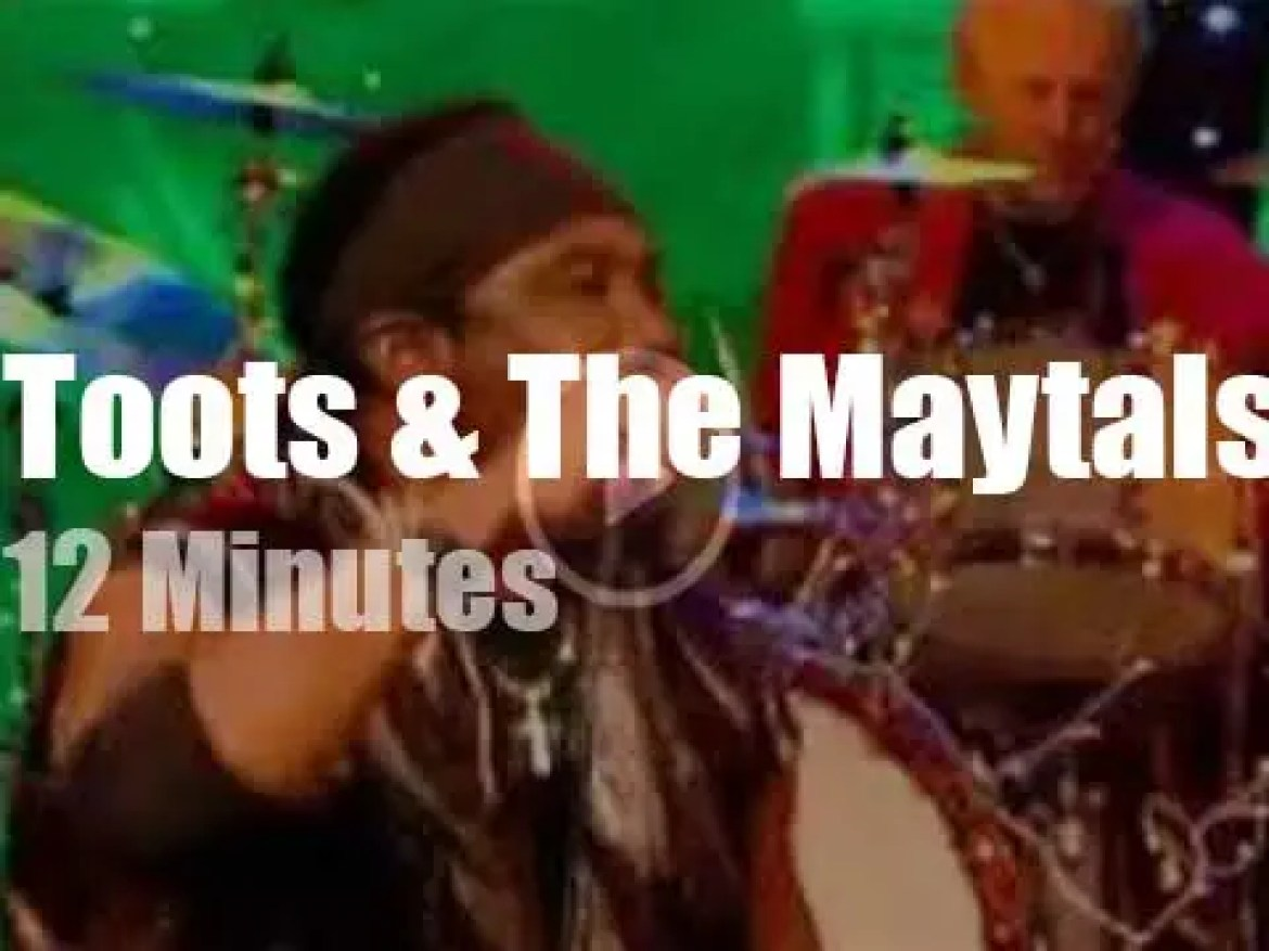 On British TV today, Toots & The Maytals with Jools Holland (2010)