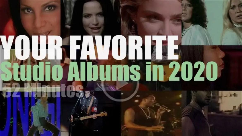 Your Favorite Studio Albums in 2020