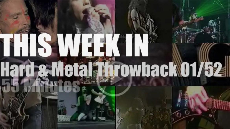 This week In  'Hard & Metal Throwback' 01/52