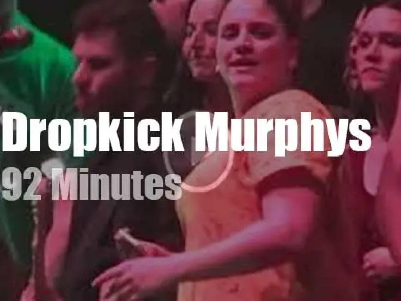 Dropkick Murphys enchant Paris (2020)