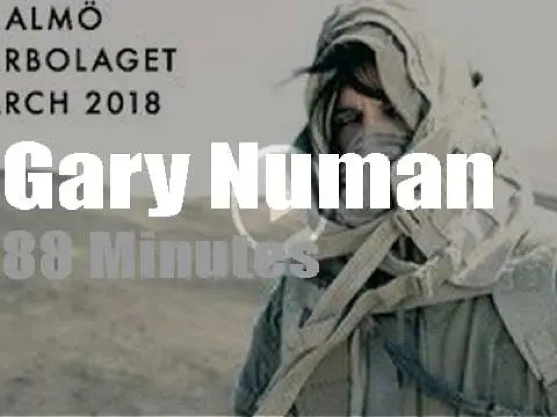 Gary Numan travels to Sweden (2018)