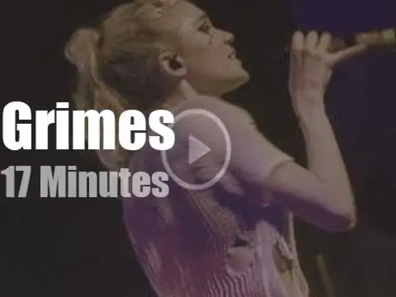 Grimes reigns in Berlin (2016)