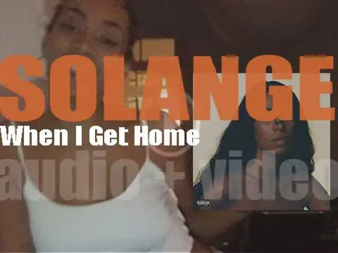 Columbia publish Solange's fourth album : 'When I Get Home' (2019)