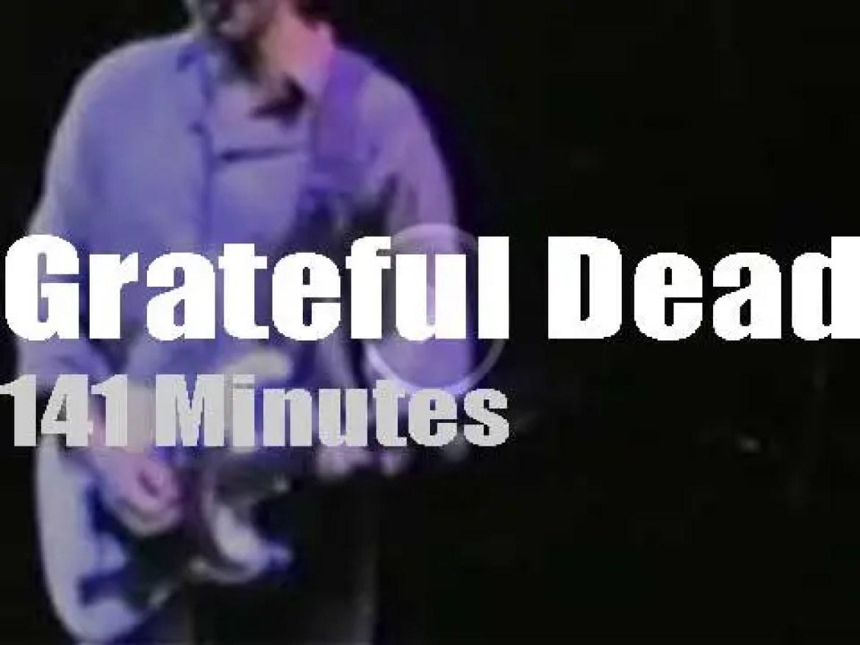 Grateful Dead visit Cincinatti (1989)