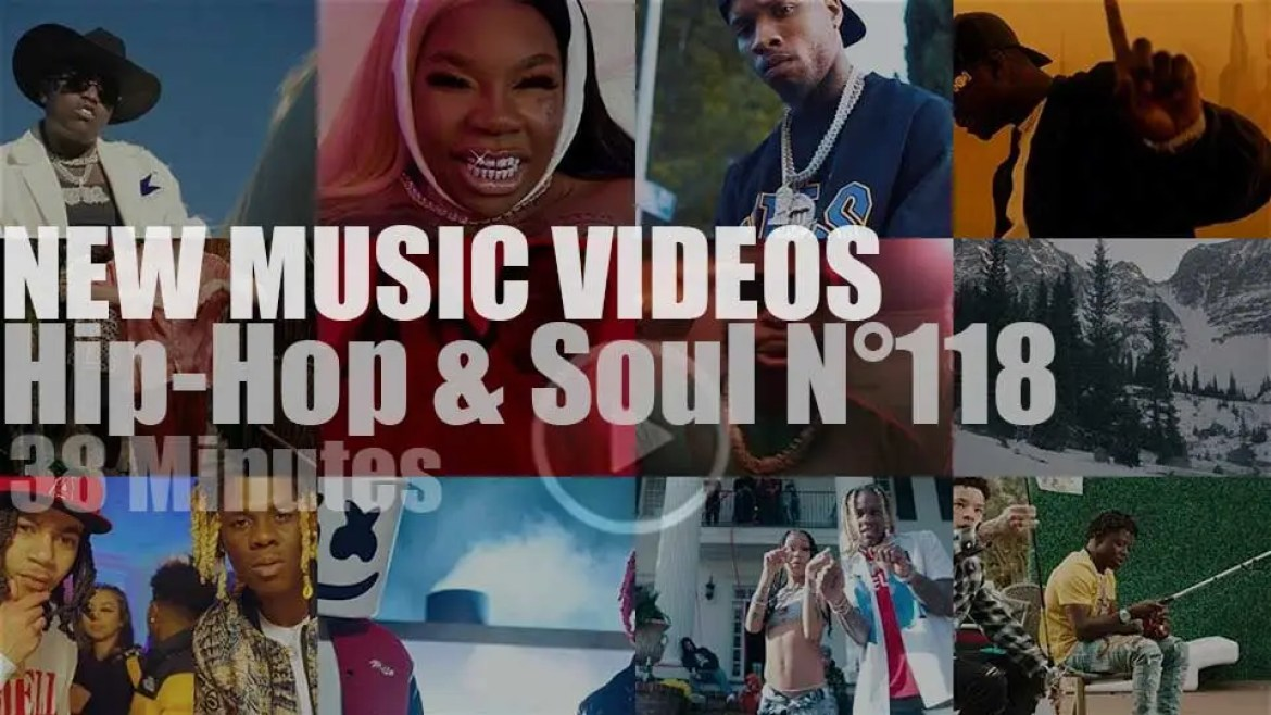 Hip-Hop & Soul N°118 – New Music Videos