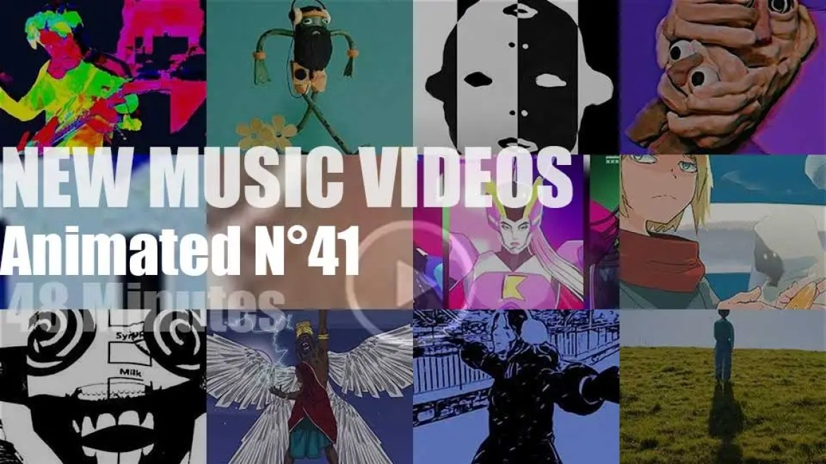 New Animated Music Videos N°41
